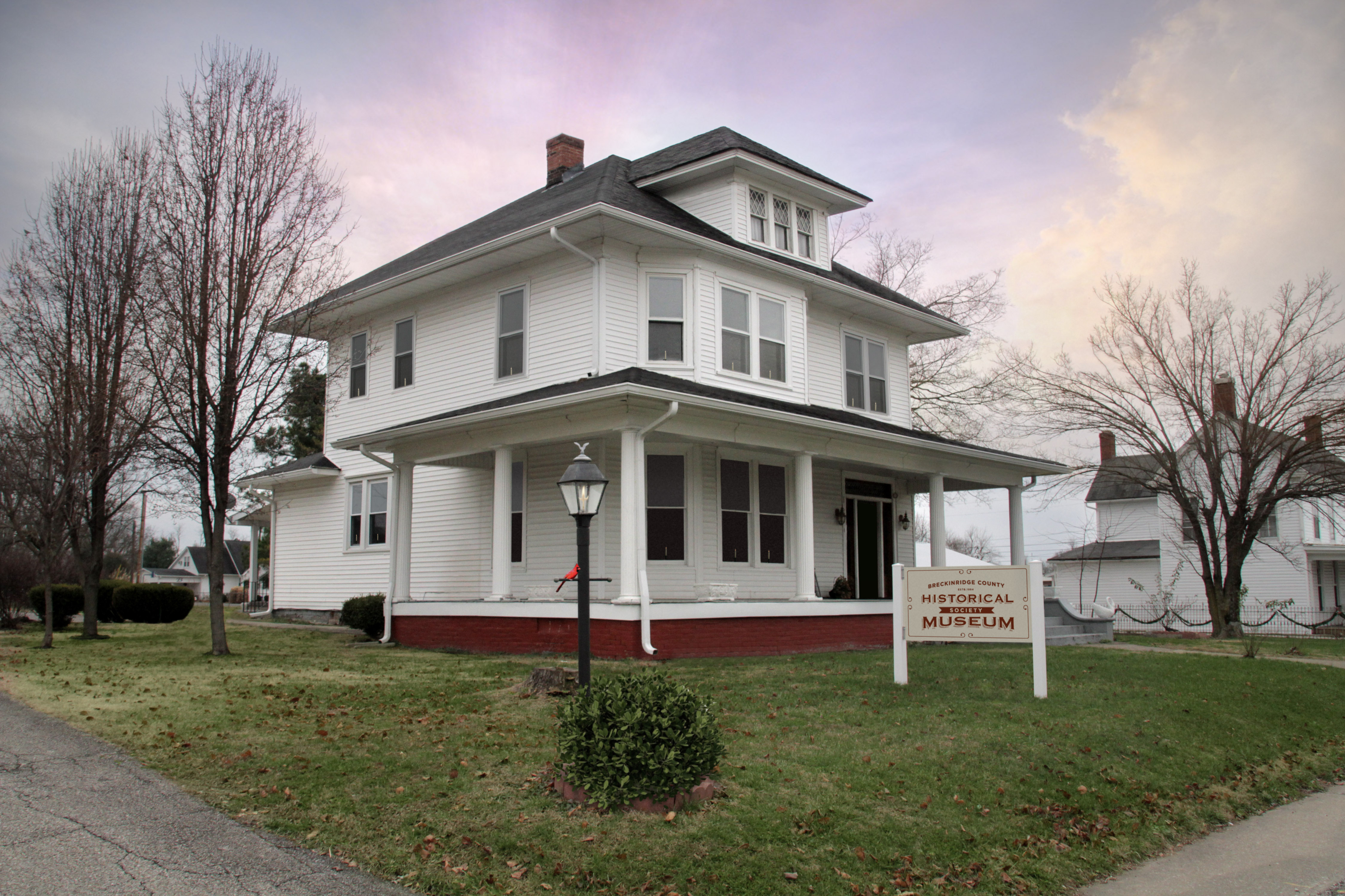New home of the Breckinridge County Historical Society Museum, purchased on June 20, 2011