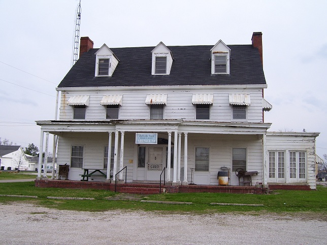 The Taylor House, home of the Breckinridge County Historical Society Museum from 2002 until August 2011